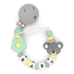 ketting-koala-met-clip-3-kleuren-baby-groen-geel-grijs